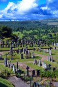 Old cemetery near Stirling castle