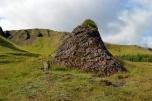 Strange grave near Kirkjugólf