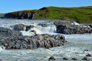 Urriðafoss Waterfall