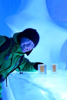 Ice bar, Jukkasjärvi, Lapland