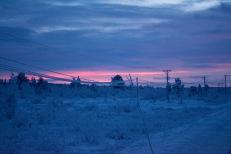 Sunrise in Kiruna