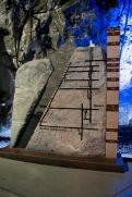 View of the depth of the LKAB mine in Kiruna