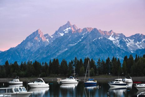 Grand Teton, Wyoming.