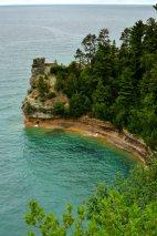 Pictured Rock National Lakeshore, Michigan.