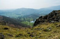 From Loughrigg Fell to Ambleside