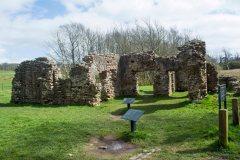 the Roman bath house