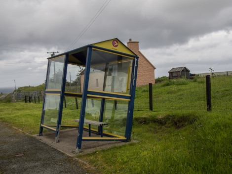 Isle skye bus stop