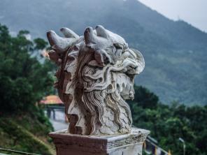 Beautiful temple close to Jiufen