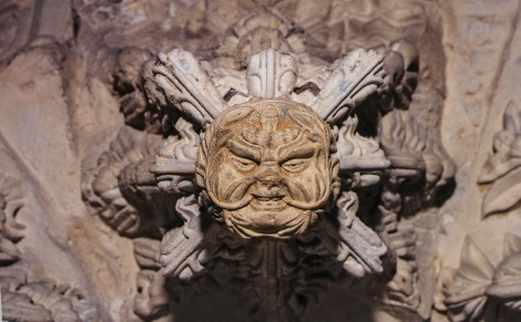 Green Man in Rosslyn Chapel