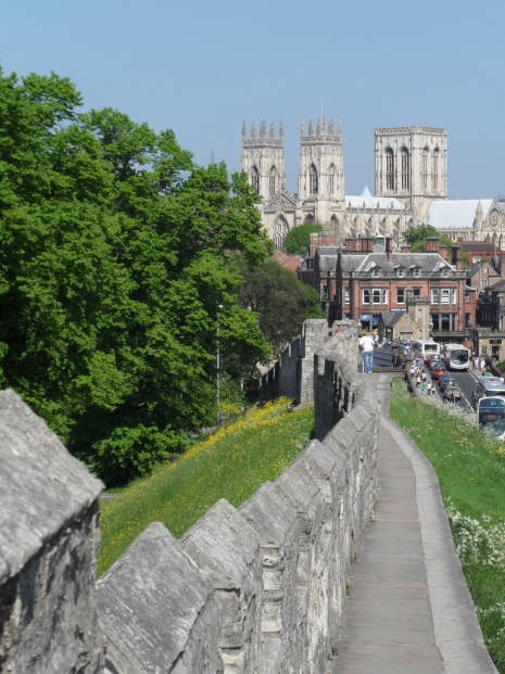 Walking the walls - York